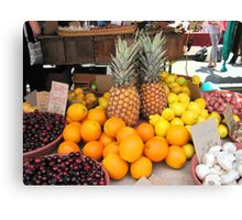 Fruit for Dessert Tonight Canvas Print