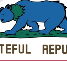 Grateful Republic Sticker