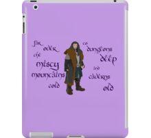 The Hobbit Misty Mountains iPad Case/Skin