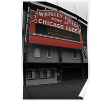 Home of the Cubs! Poster