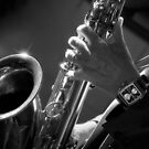 Saxophone playing by Laurent Hunziker