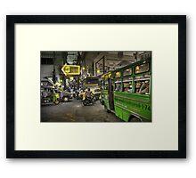 Traffic in Bangkok Framed Print