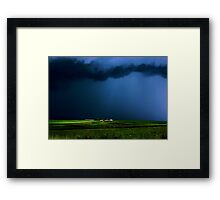 Wild, wild weather Framed Print