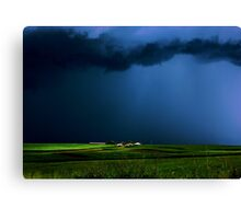 Wild, wild weather Canvas Print