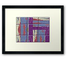 ABSTRACT 142 Framed Print