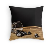 One last shot Throw Pillow