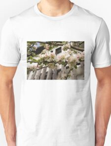 Facades and Fruit Trees - the Villa and the Apple Unisex T-Shirt