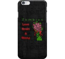 Halloween Night with Zombies iPhone Case/Skin