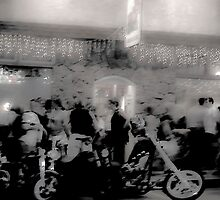 Bikers at the Canteen  by Jason Lee Jodoin