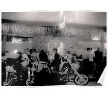 Bikers at the Canteen  Poster
