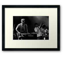 Slow Motion Heroes Framed Print