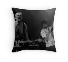 Slow Motion Heroes Throw Pillow