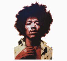 Hendrix by Antonio Méndez Díaz