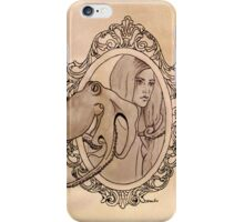 a lady needn't fear being lonely iPhone Case/Skin