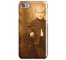 Unknown Child #3 iPhone Case/Skin