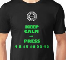 Keep calm lost Unisex T-Shirt