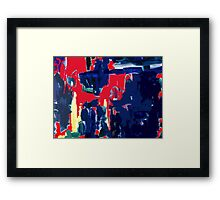 ABSTRACT 181 Framed Print