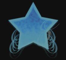 Fancy Swirl Star by ValeriesGallery