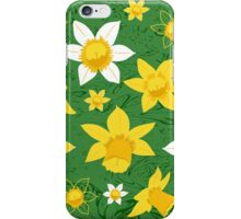 Daffodils Pattern iPhone Case/Skin