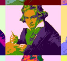 Ludwig Van Beethoven (1712-73) Sticker
