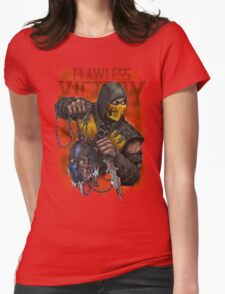 Scorpion: Flawless Victory Womens Fitted T-Shirt