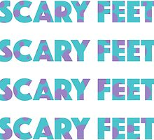Sulley Scary Feet Monsters Inc Text by nemofish