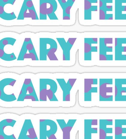 Sulley Scary Feet Monsters Inc Text Sticker