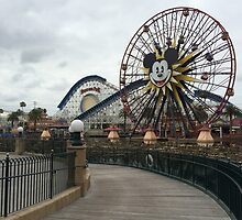 Paradise Pier by SarenaInDisney