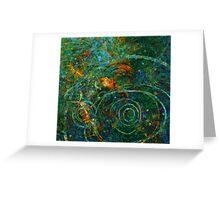 Rain pond Greeting Card