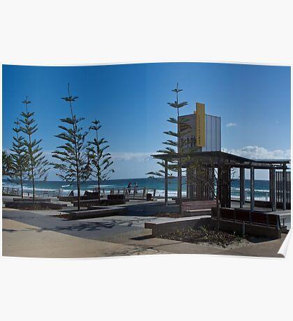 Hanlen Street - Surfers Esplanade Upgrade   Poster