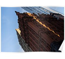 Manhattan - an Angled View of the Potter Building at Sunrise Poster