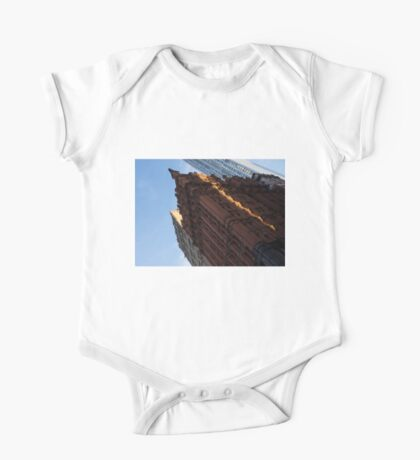 Manhattan - an Angled View of the Potter Building at Sunrise One Piece - Short Sleeve