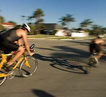 Riders by Larry  Grayam