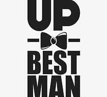 Suit up best man! by nektarinchen
