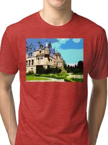 SUMMER AT BELFAST CASTLE Tri-blend T-Shirt