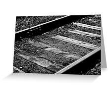 Track Greeting Card