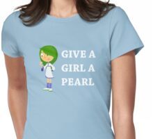 GATE STREET HIGH - Qing - Give a Girl Womens Fitted T-Shirt