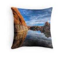 Rocks on the Side Throw Pillow