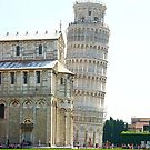 Leaning Tower by Julie Moore