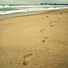 Footprints  by Julie Moore