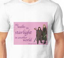 The Hobbit She walks in starlight Unisex T-Shirt
