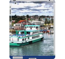 Saturday on the Solent  iPad Case/Skin