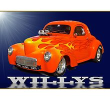 Willys Coupe by TGrowden