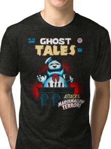 Marshmallow Terror Tri-blend T-Shirt