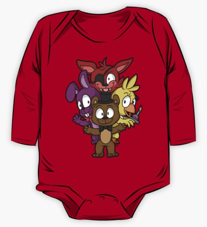Five Nights at Freddy's Chibi One Piece - Long Sleeve