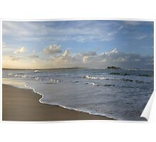 On the Beach - Maroochydore Qld Poster