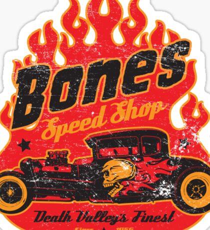Bones Speed Shop Sticker