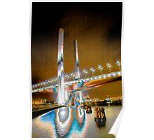 Bolte Bridge, Docklands Poster