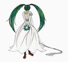 Flower Girl : Muguet (Lily of the valley) Kids Tee
