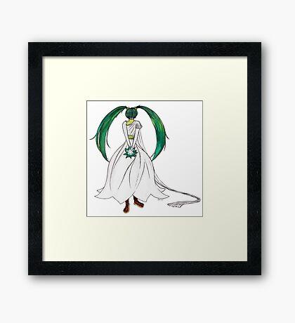 Flower Girl : Muguet (Lily of the valley) Framed Print